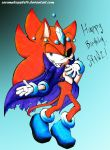 Happy Birthday SonicfortheWin2~! by mooninescent