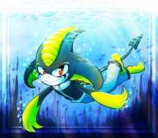 Cochibi:: Under the sea by vaporotem