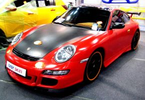 Awesomness Of The Porsche Carrera by toyonda