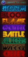 Awesome Cinematic Text Styles by Romenig