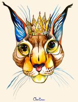 LYNX QUEEN by ClaraBacou