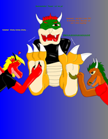 Bowser and his Tickle Torture by TicklishVGScalies