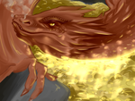 Smaug bby by creepy-plant