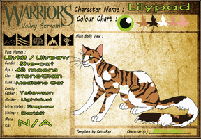 WV-S : Lillypad Medicine Cat of StoneClan by BettaRae