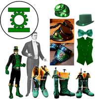 Steam Punk GreenLantern design by ZanderYurami