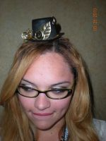 Steampunk Spy Mini Hat by Oriana-X-Myst