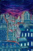 City Scape by Lathrin