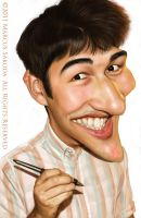 Self Caricature 4 by Jubhubmubfub