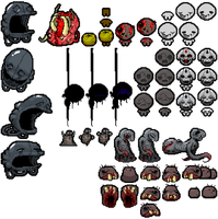 TBoI: Rebirth new enemies. by TitaniumGrunt7