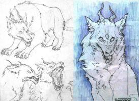 Sketches for MOR by Astarcis