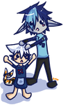 Hym and Lyhn Chibis by ay4u