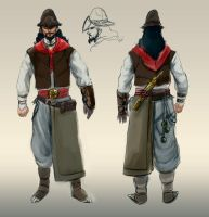 Assassin's Creed Brazil: Gaucho concept by DiegoSanches