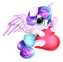 Princess Flurry Heart by pridark