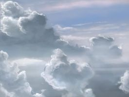 Speed paint study Clouds (3) by charfade