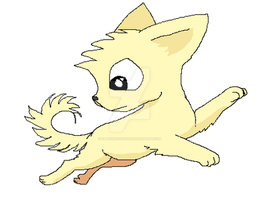 Chihuahua Yellow by SpitfiresOnIce