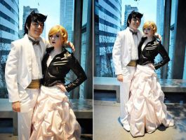 Awkward Prom Date by ImmortalCosplay