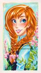 Princess Anna from Frozen by LemiaCrescent