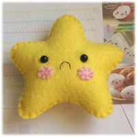 Sad Star Pincushion by Keito-San
