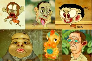 That creep from Lost and runo babiessss by Makinita
