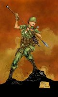 G.I. Joe-Lady Jaye Colors by likwidlead
