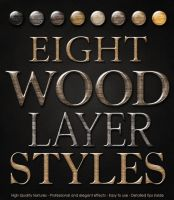 Wood Photoshop Layer Style by Giallo86