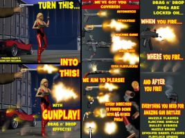 Gunplay! Realistic Gunfire Effects Stock Set by ArtbroSean