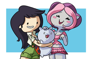 Beth Catbug and Plum by StevenRayBrown
