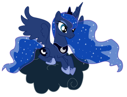MLP Luna: Forever Floating by RadSpyro