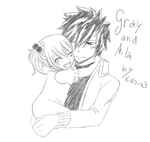 Hug [Gray and Mila] by Kiko-x3