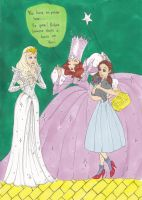 Glinda's Warning by Lewis-James