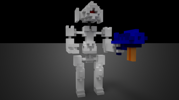 Voxel Robot by Raykorn