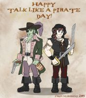 A Pirate's Life for Me by Kayzig
