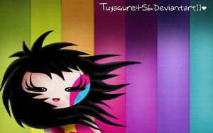 Wallpaper Girl by tuyagure456
