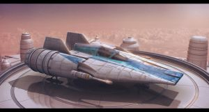 Star Wars Incom RZ-1 Mark III A-Wing Advanced by AdamKop