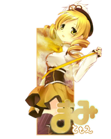 Sign: Tomoe Mami by Cookie-desu