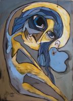 The Ugly Girl On The Moon by Ralu77