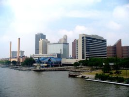 Downtown Toledo 2 by Ahrum