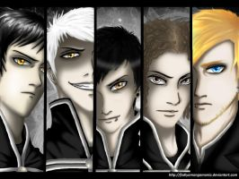 Captains of The Black Parade by fadiyaMangaMania