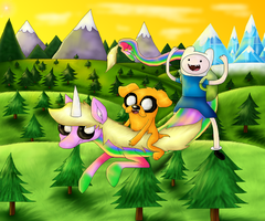 Adventure Time by PlagueDogs123