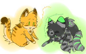 meow meow mew mew by Freckled-Kat