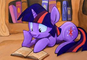 Lost in a Book by sophiecabra