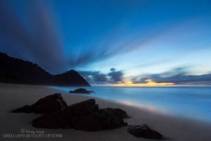 Scott's Beach Twilight by GregArps