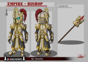Dissension - Empire Bishop Concept by davislim