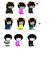 Homestuck offer to adopt batch 1 -CLOSED- by SylphofHeart