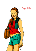 Glee FanArt: Sugar Motta by NinaKask