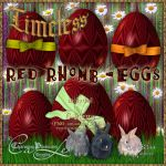 Timeless-RedRhomb-Eggs by Charmadige
