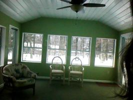 screenporch - sunroom by miyumicat