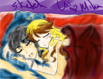 Sketch Color Miha and Lui Goodnight by SketchyRainBow