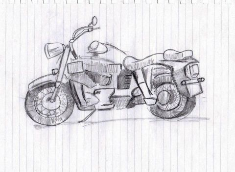 Motorbike by leighbailey