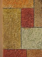 00037 - Mondrian-esque Painted Rough Wall by emstock